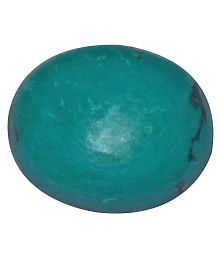 Sri Ratna Mandir 4.45 -Ratti Self Certified Turquoise Turquoise Semi-precious Gemstone