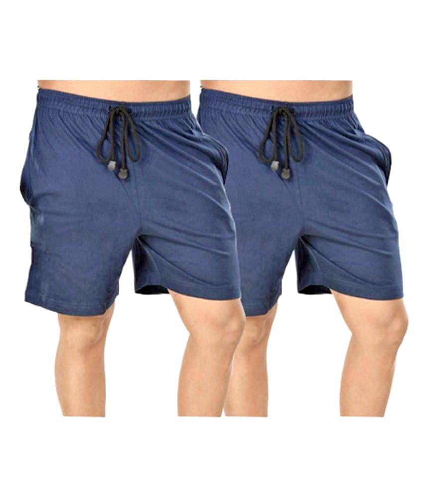 Bumchums Blue Shorts