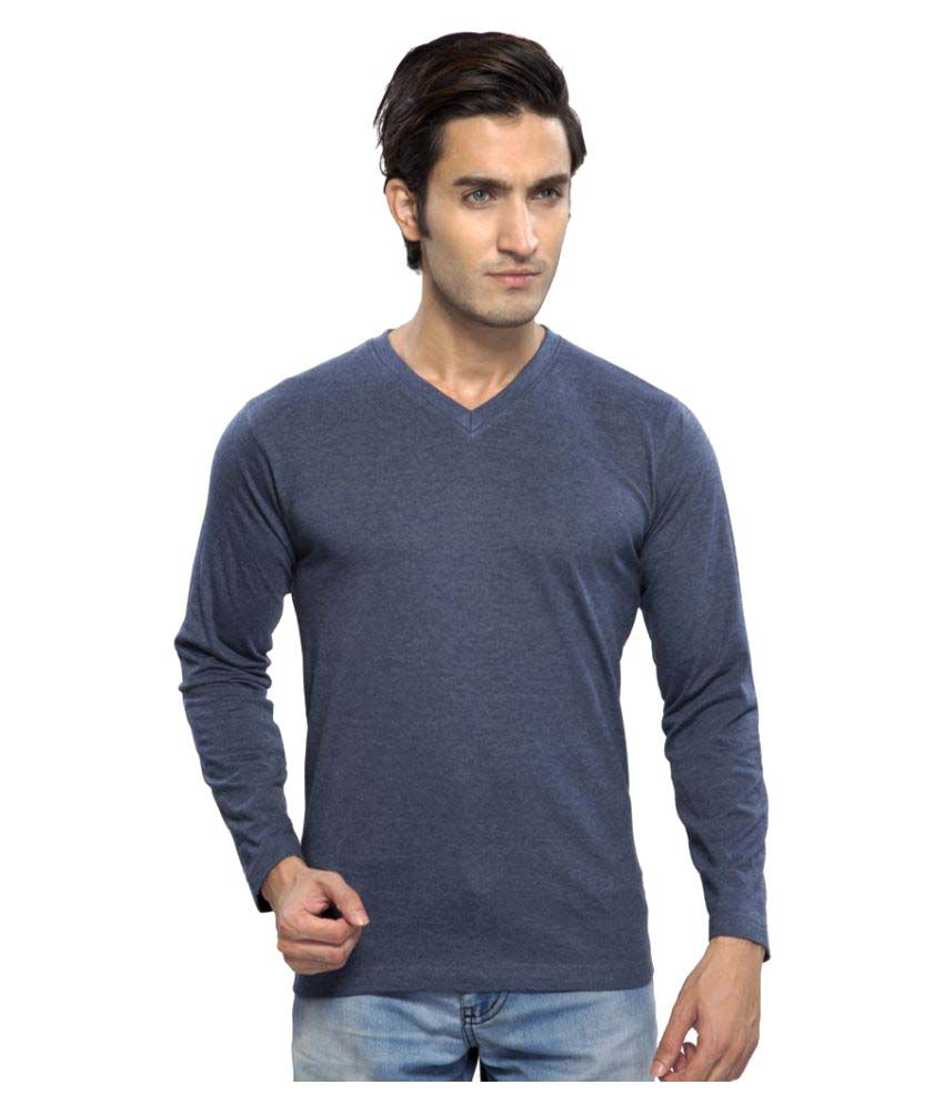 Clifton Navy V-Neck T-Shirt