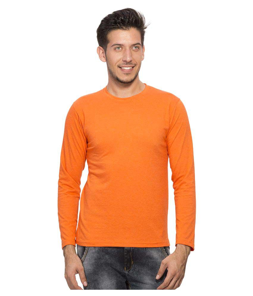 Clifton Orange Round T-Shirt