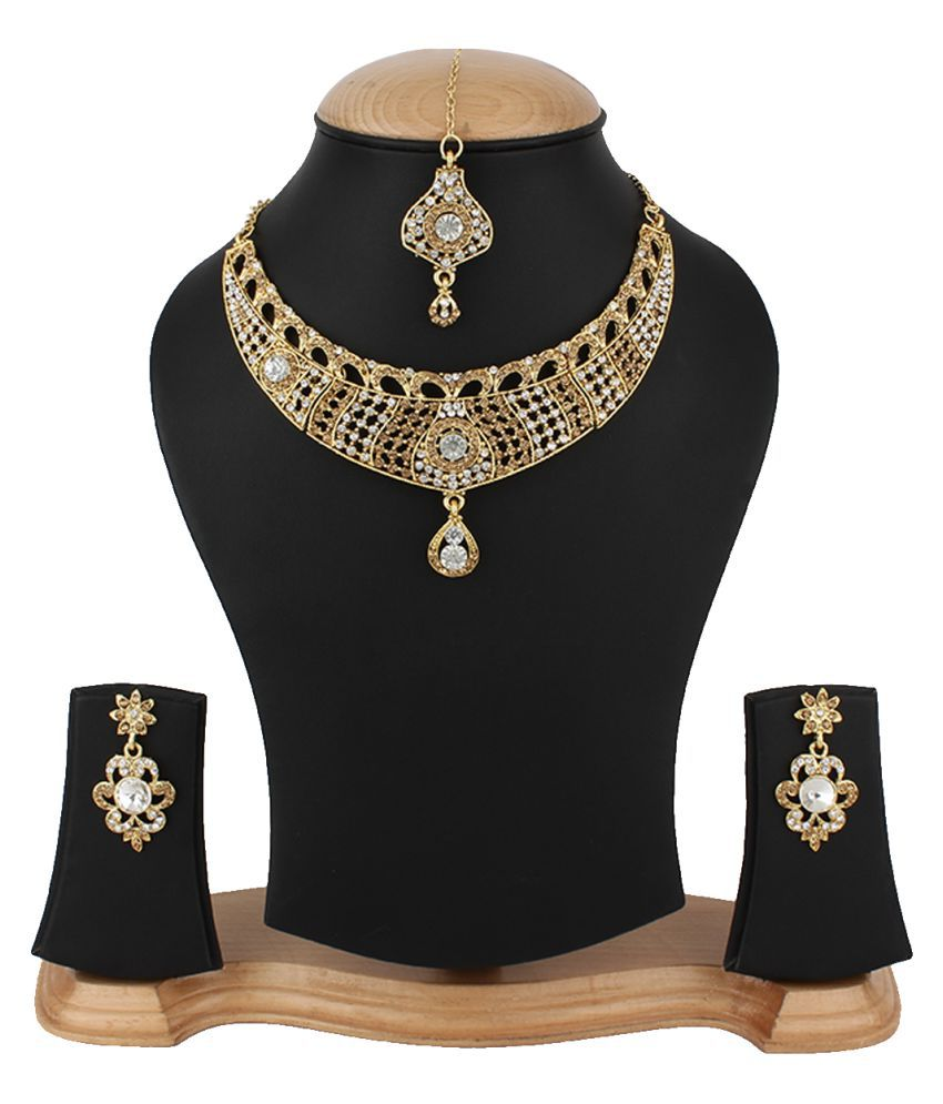 Jewels Gehna Multciolor Necklace Set