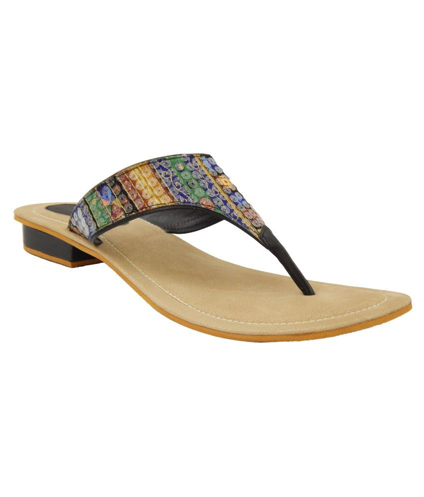 Footerz Multi Color Flats