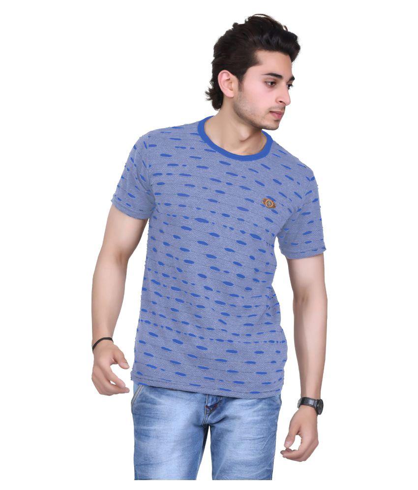 Broche Grey Round T-Shirt