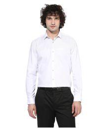 Turtle White Formal Slim Fit Shirt