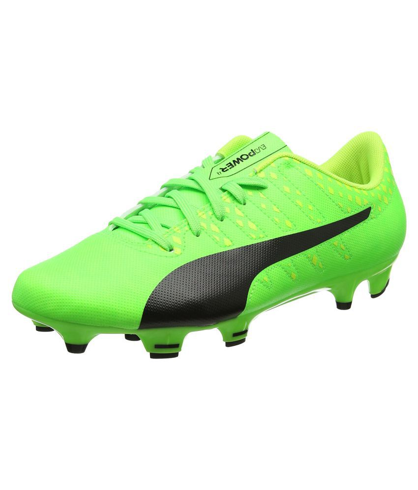 41f22664f Puma Evopower Vigor 4 Fg Green Football Shoes - Buy Puma Evopower Vigor 4 Fg  Green Football Shoes Online at Best Prices in India on Snapdeal