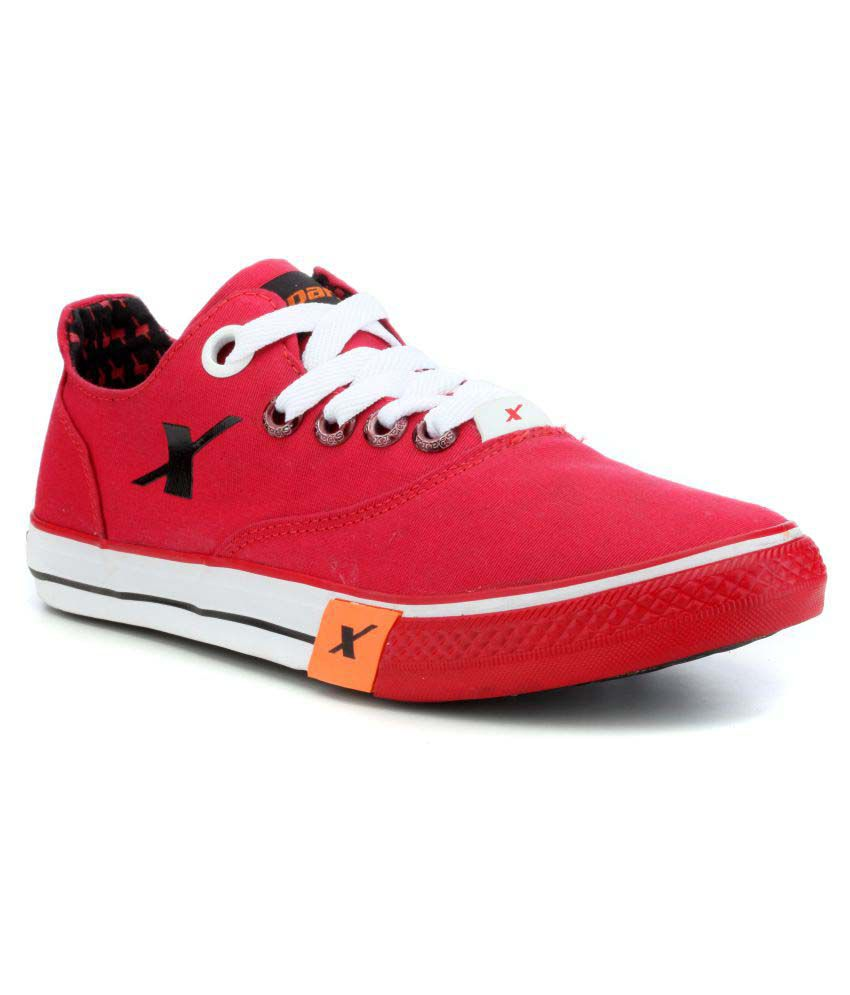 Sparx SM-192 Sneakers Red Casual Shoes