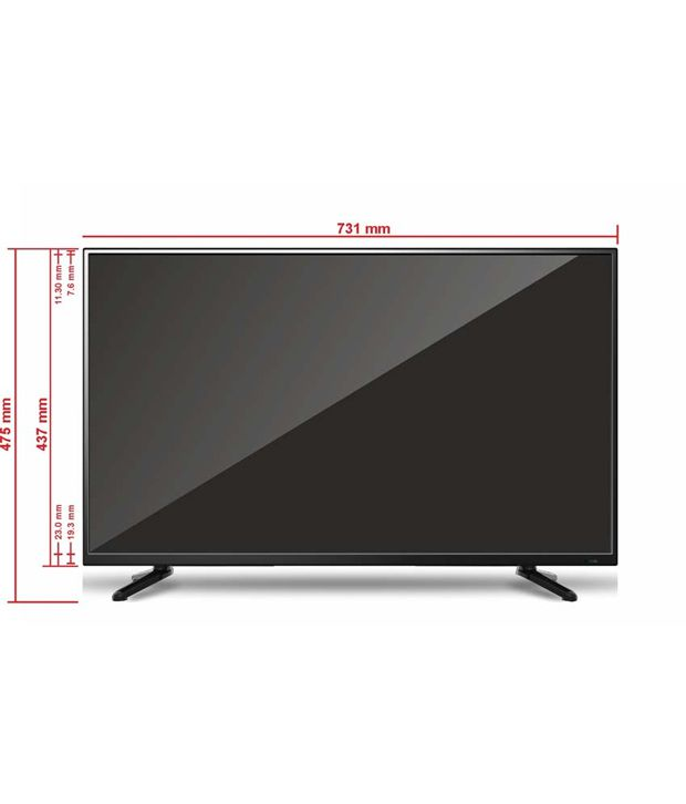 buy weston wel3200s 80 cm 32 hd ready smart led television online at best price in india. Black Bedroom Furniture Sets. Home Design Ideas