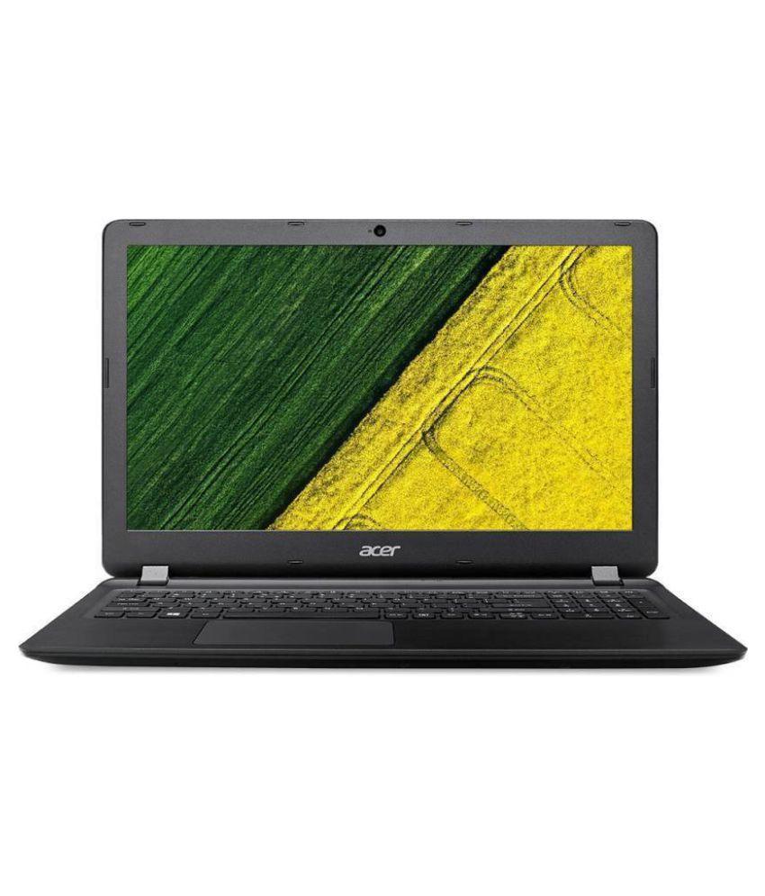 Acer Aspire Es1-523 20vb Notebook (AMD APU E1- 4GB RAM- 500GB HDD- 39.62cm(15.6)- Windows 10) (Black)