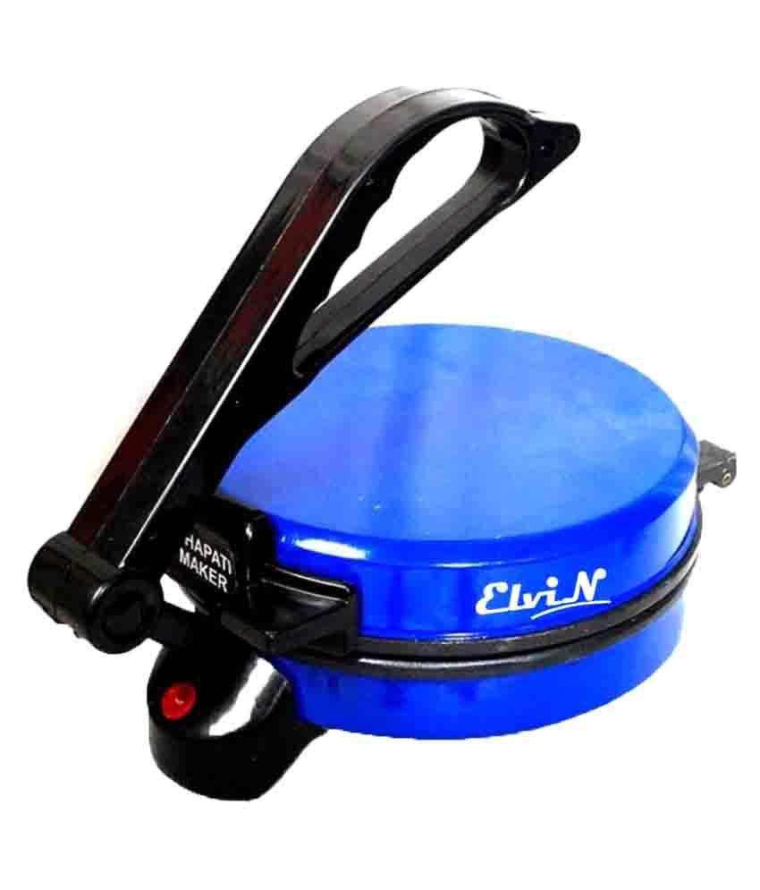 Elvin Electric Machine For Papad Maker Phulka Chapati Roti/Khakhra Maker 1000 Watts Roti Maker