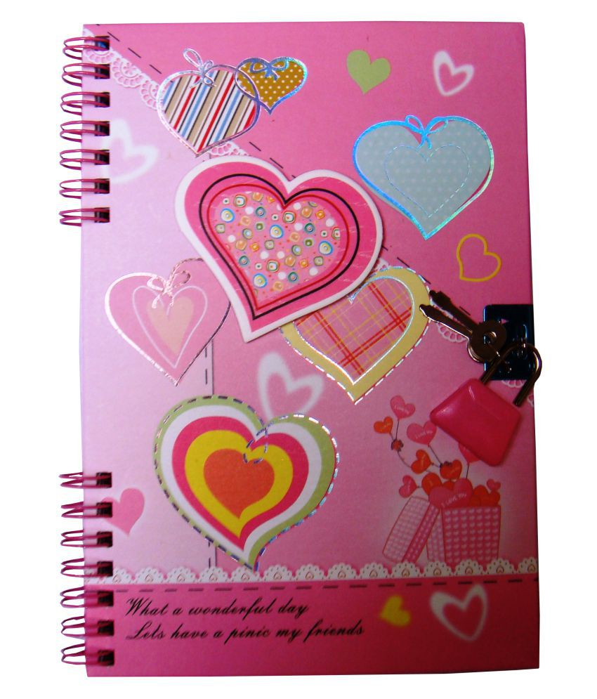 Zhishang Multicolour Trendy Diary