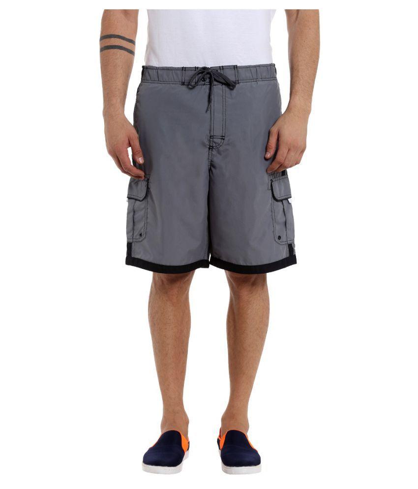 Fast n Fashion Grey Shorts