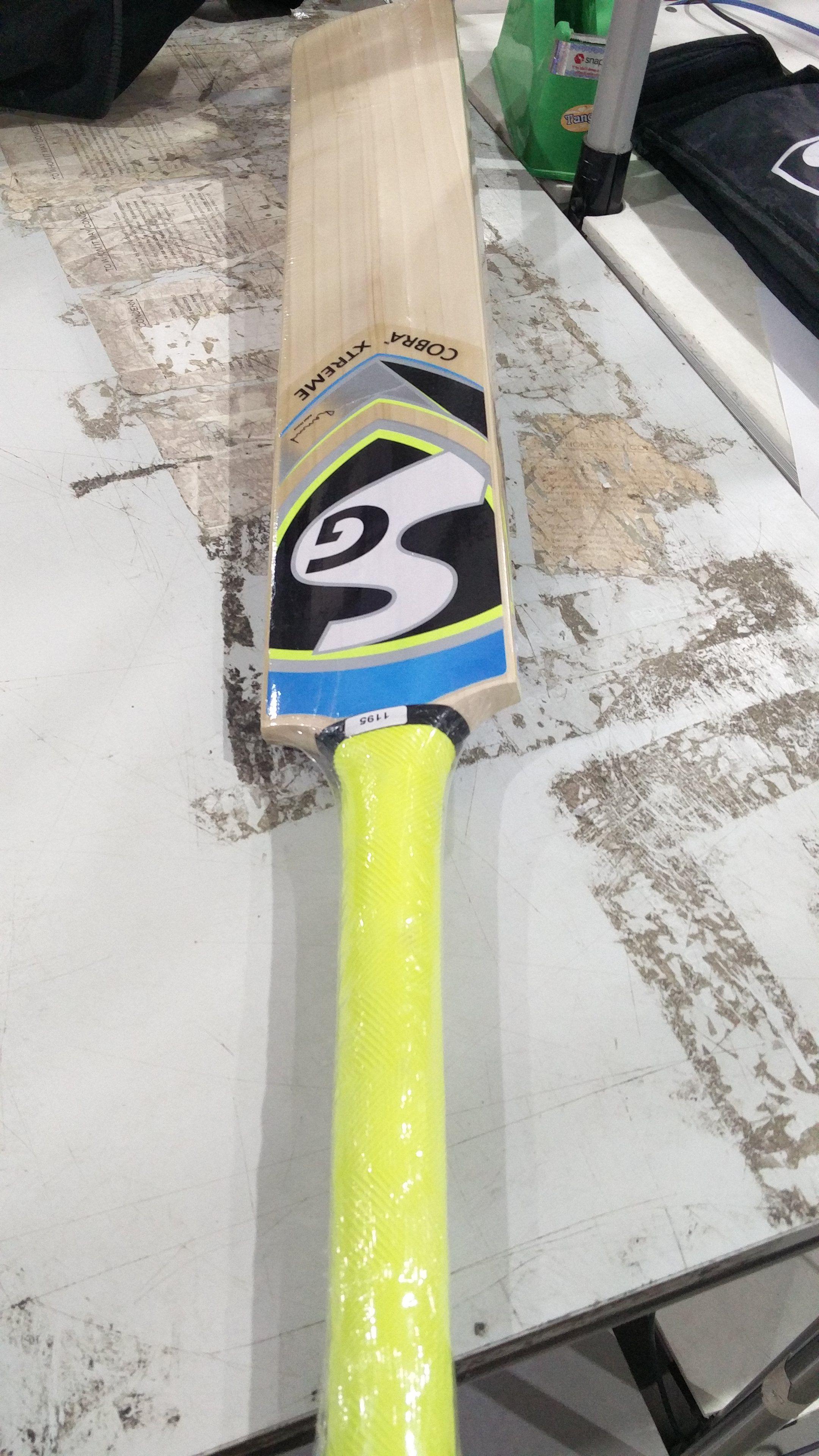SG Cobra Xtreme English Willow Cricket Bat Buy line at Best