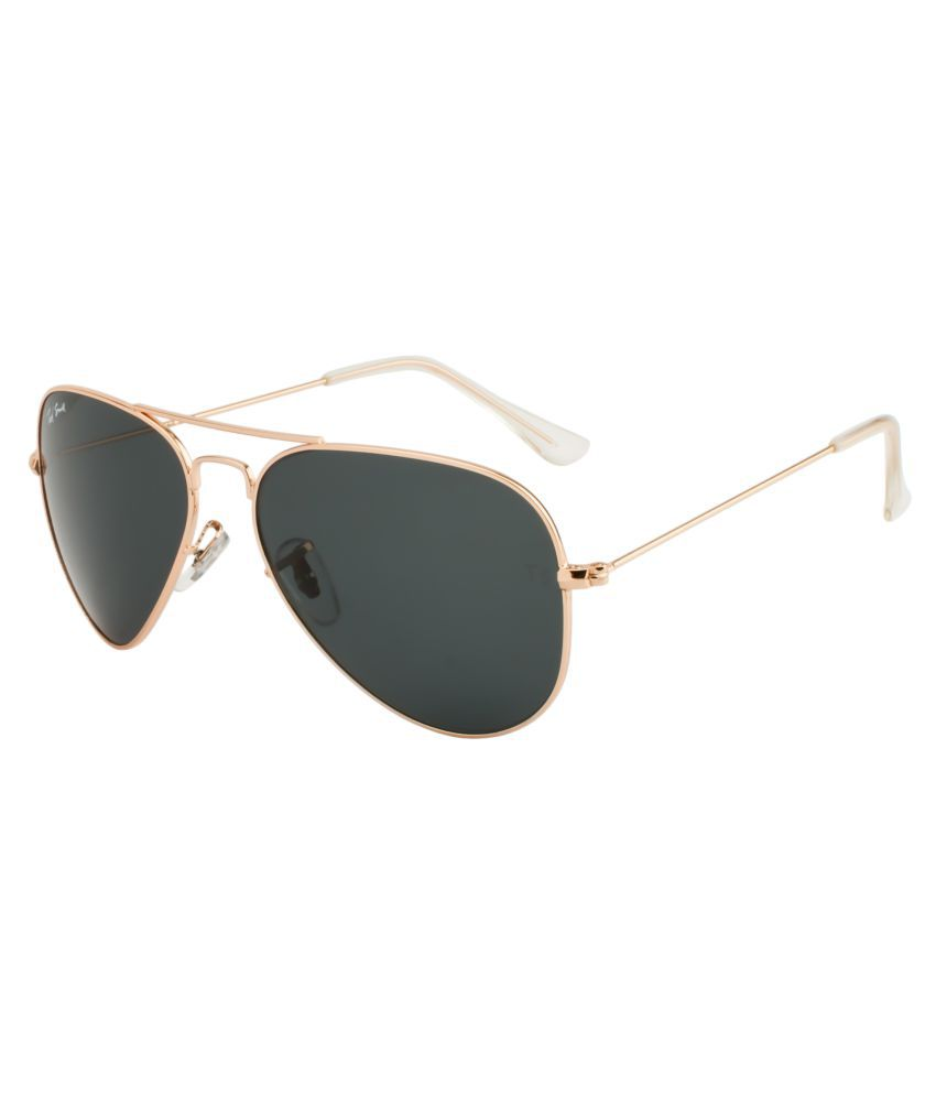 Ted Smith Grey Aviator Sunglasses ( TS3025 )