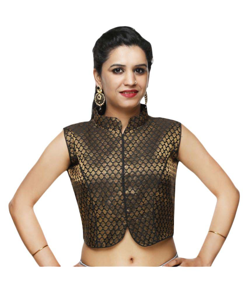 Lady In Style Gold Blouse