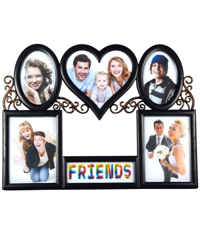 a7916e6c954f Archies Collage Frames Plastic Wall Hanging Black Collage Photo Frame -  Pack of 1  Buy Archies Collage Frames Plastic Wall Hanging Black Collage  Photo Frame ...