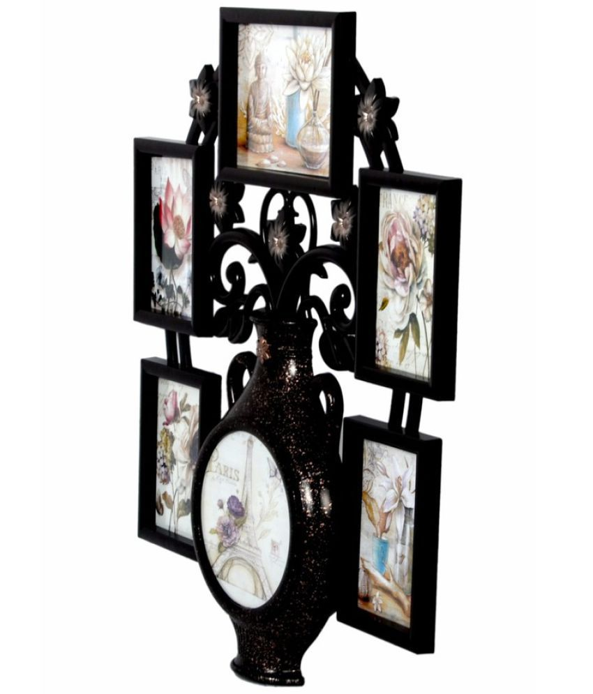 Archies Collage Frames Plastic Wall Hanging Brown Collage Photo ...
