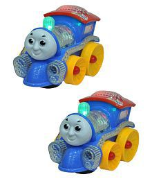 New Pinch Combo Of Musical Train With Light (Pack Of 2 )