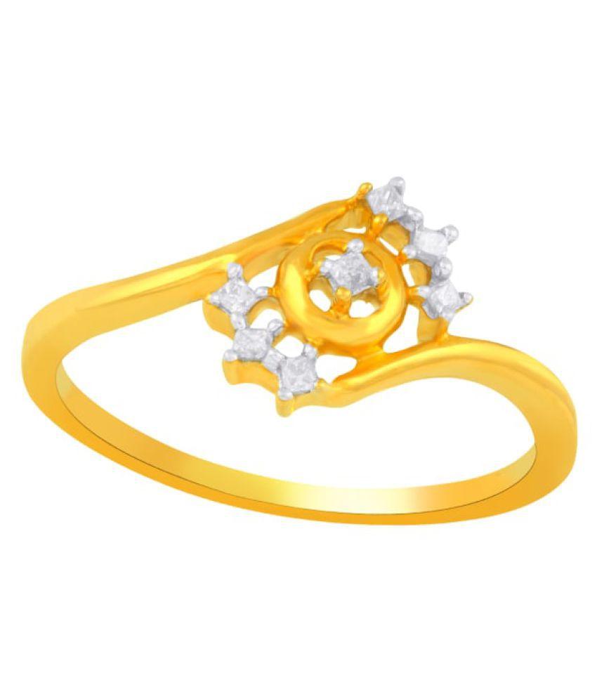 G Divas 18k Gold Diamond Ring