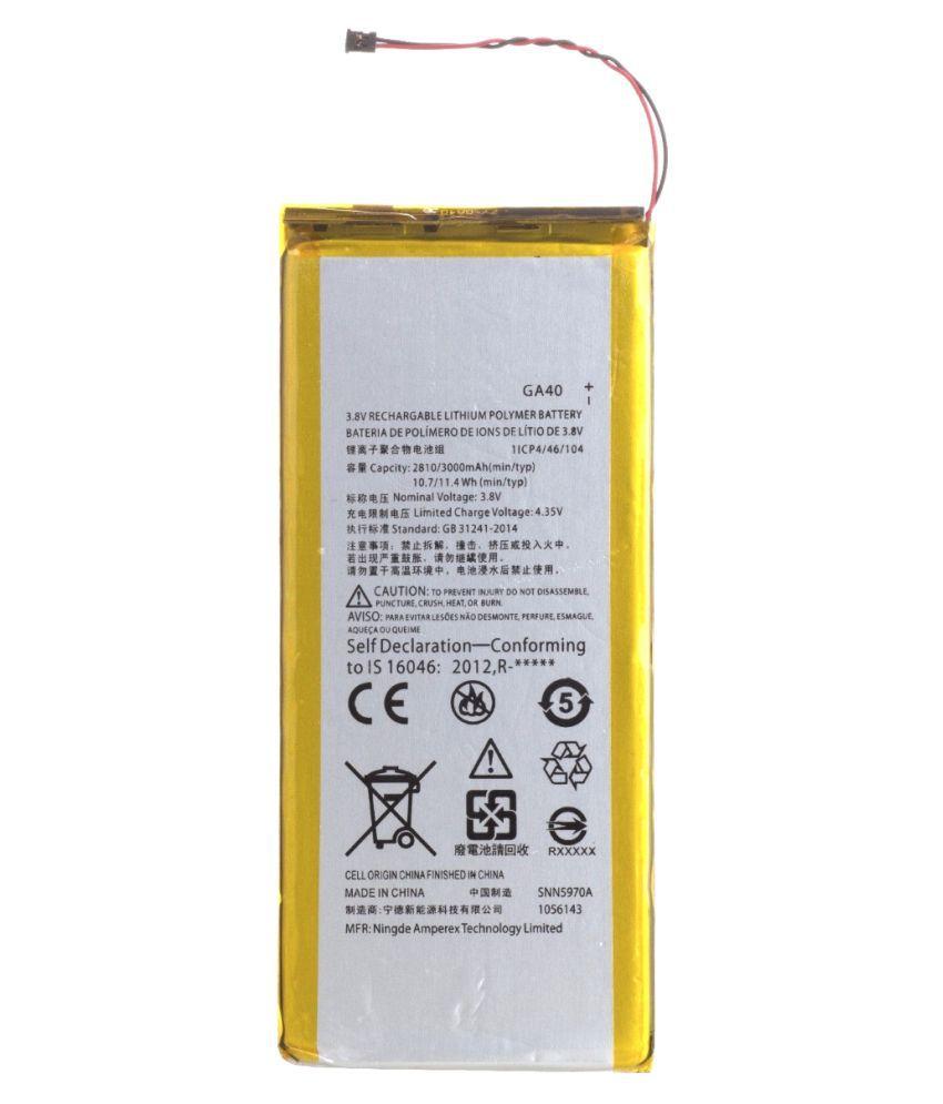 buy popular 6df71 4ec14 Moto G4 Plus 3000 mAh Battery by Kivi