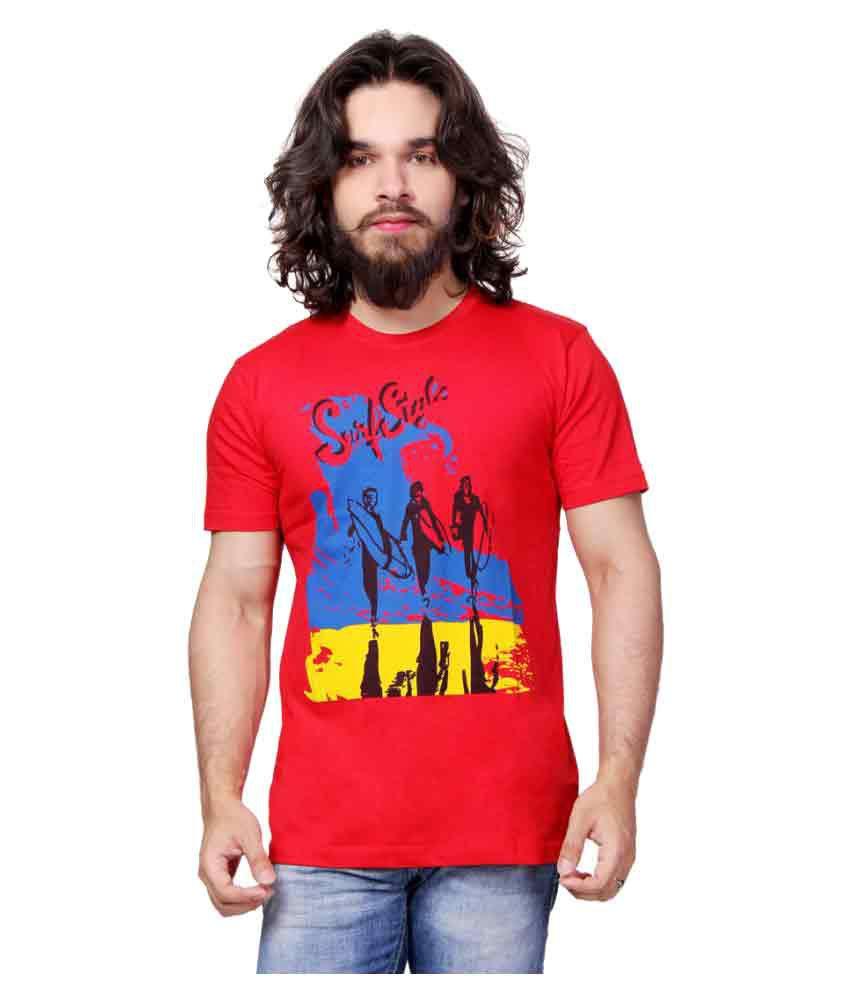 UH Red Round T-Shirt