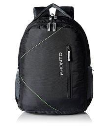 Pronto Black Backpack
