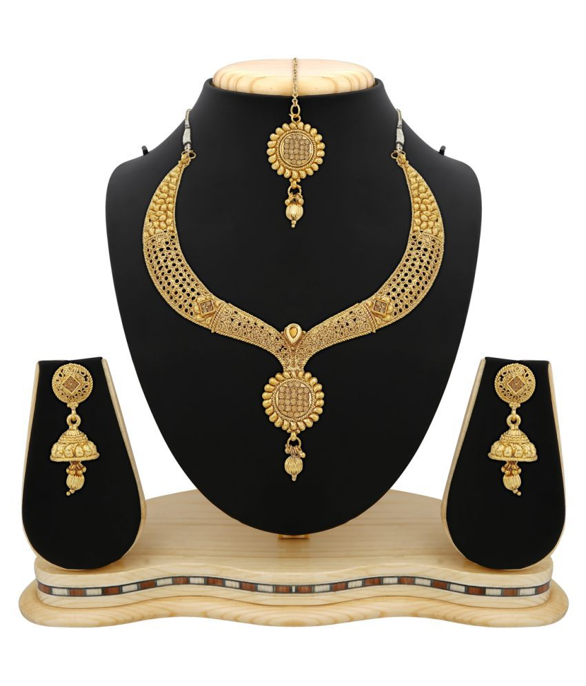 gold youtube set watch designer designs necklace sets kolkatha