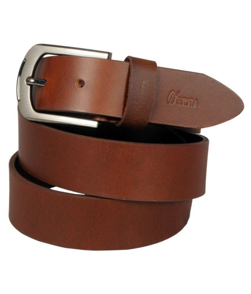 Nerita Tan Leather Formal Belts