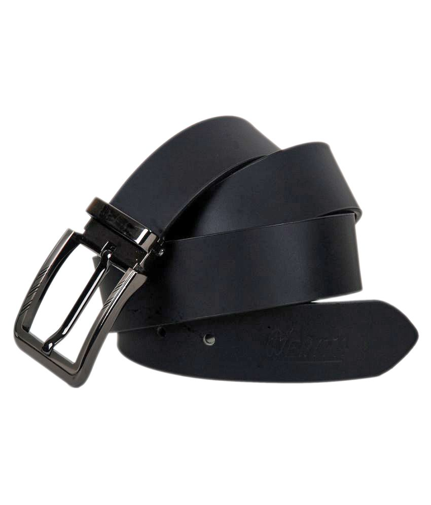 Nerita Black Leather Formal Belts
