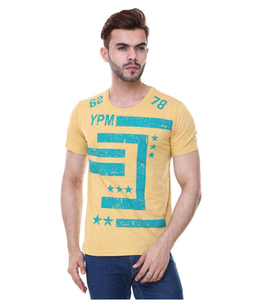 Zarkons Yellow Round T-Shirt