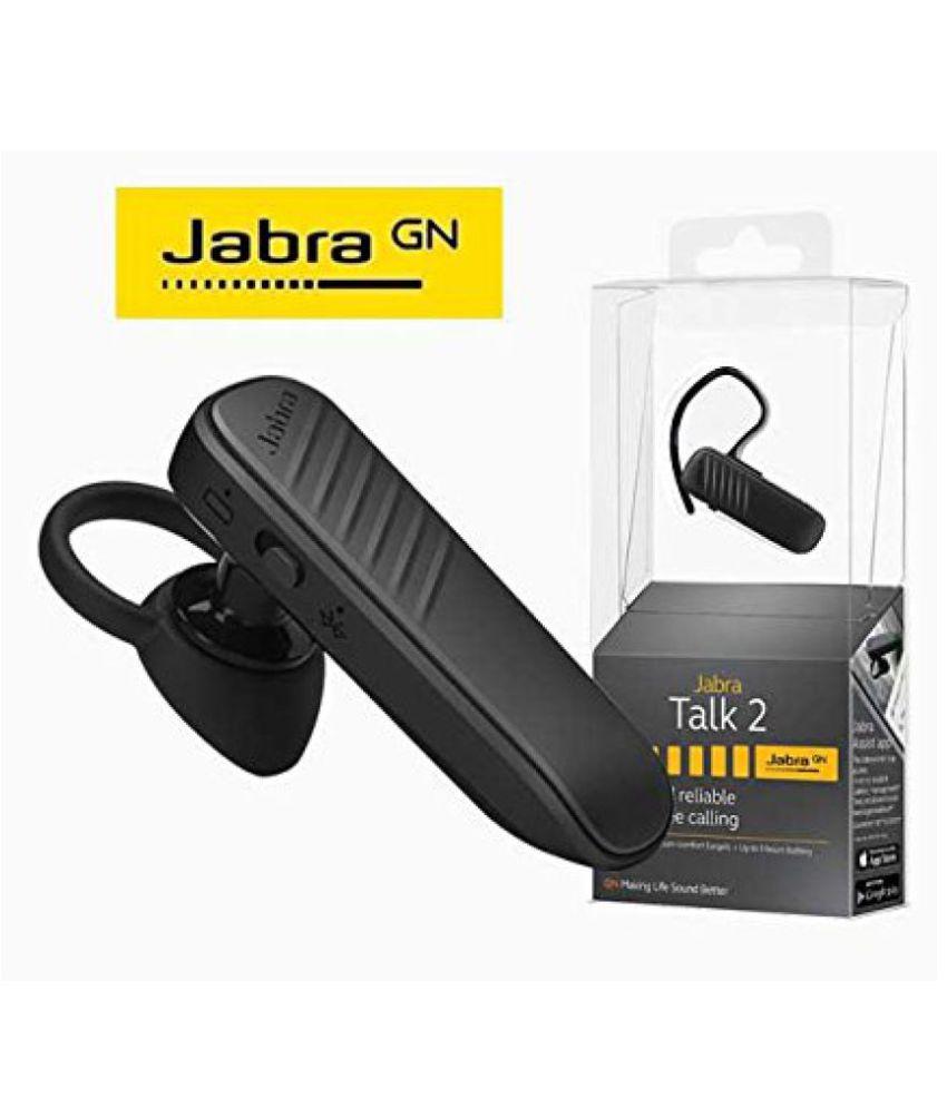 32ca6f4b162 Jabra Talk 2 Bluetooth Headset - Black - Bluetooth Headsets Online ...
