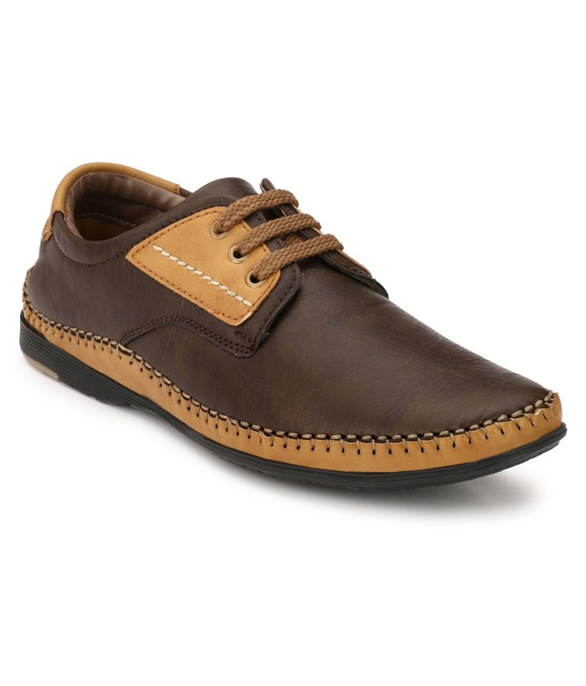 Fentacia Lifestyle Brown Casual Shoes