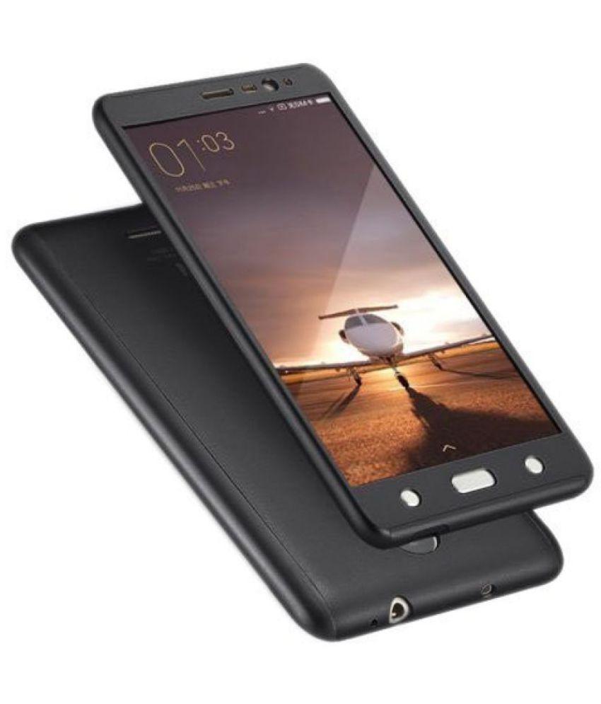 Xiaomi Redmi 3s Prime Plain Cases Kosher Traders - Black
