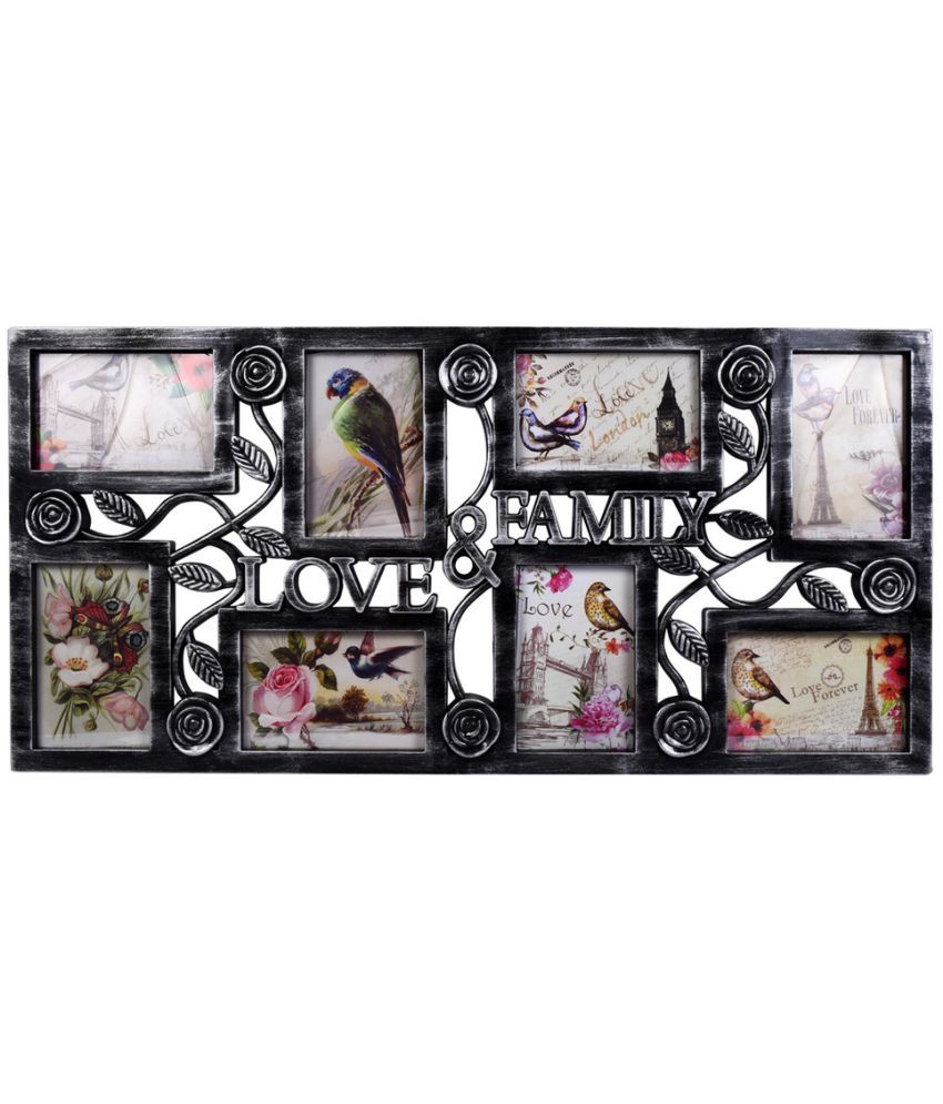 Archies Collage Frames Plastic Wall Hanging Silver Collage Photo ...