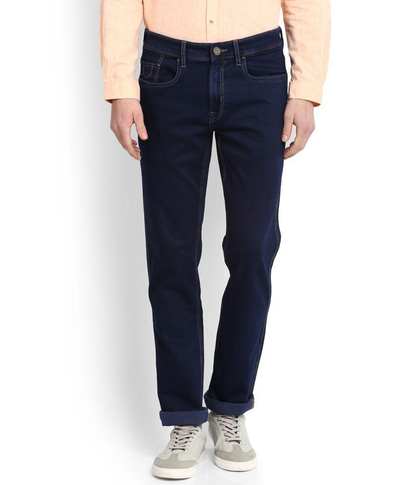 Peter England Blue Slim Jeans