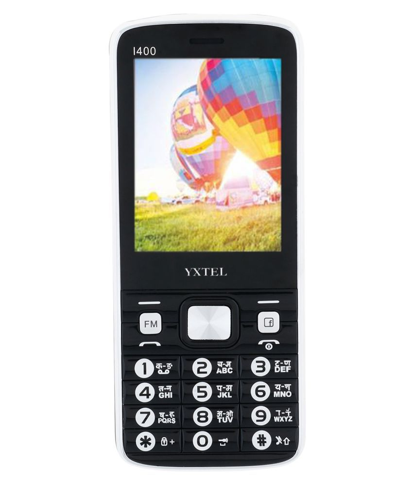 Yxtel YX-IP400 32 MB Black & Grey