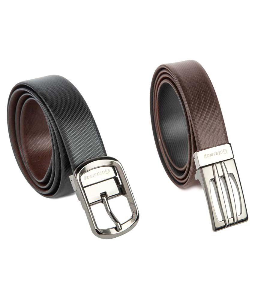 Gatasmay Multi Leather Combo Belts