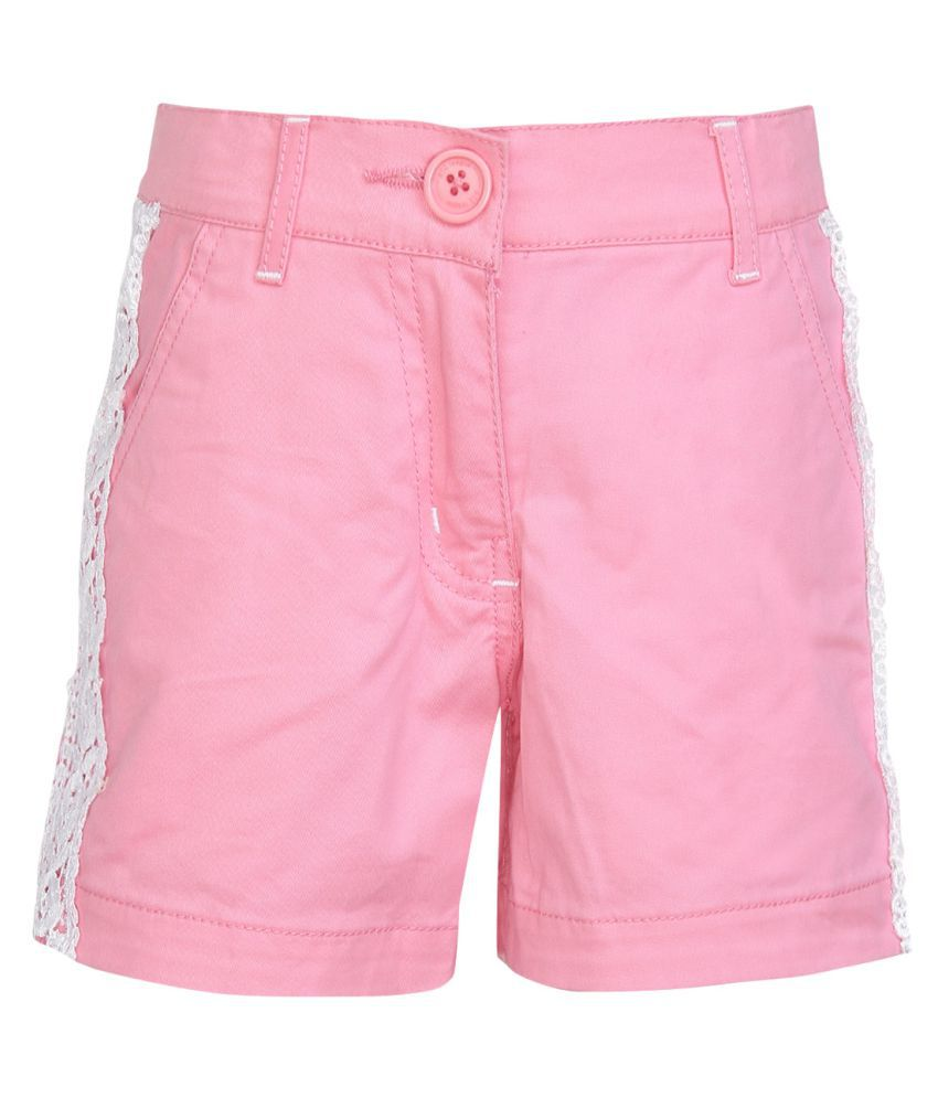 612 League Neon Pink Hot Pants