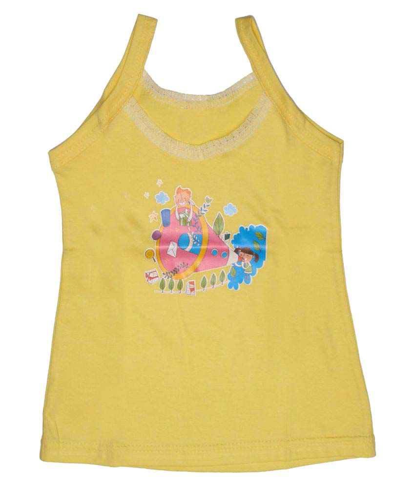 Babeezworld Baby Girl's Cotton Top