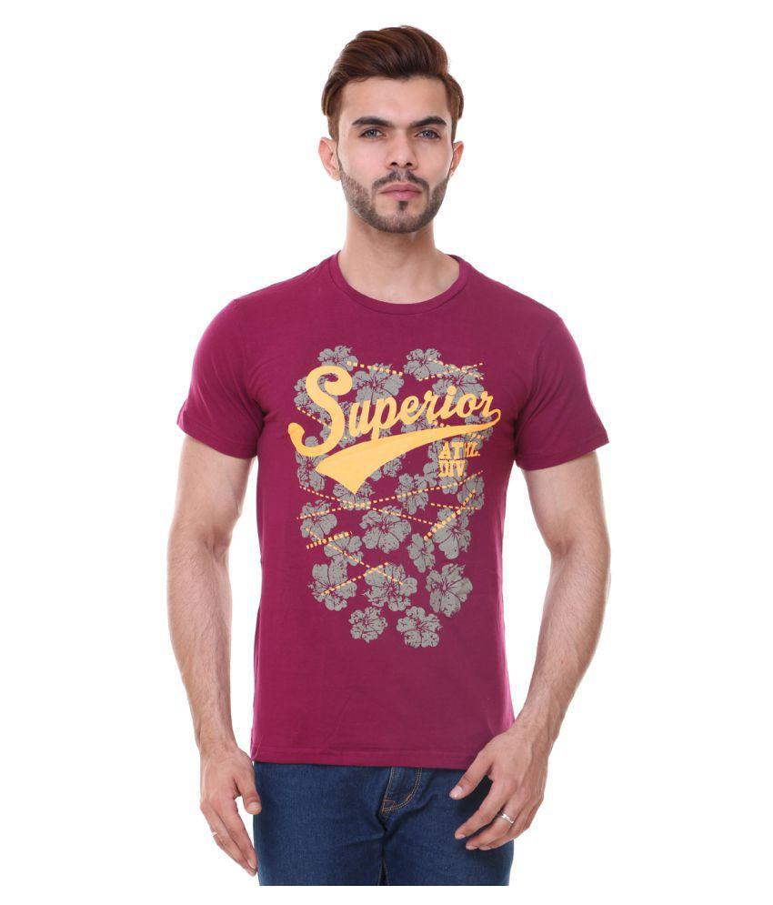Zarkons Maroon Round T-Shirt