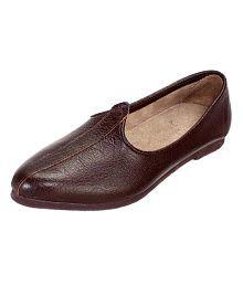 Lottary Brown Designer Shoe
