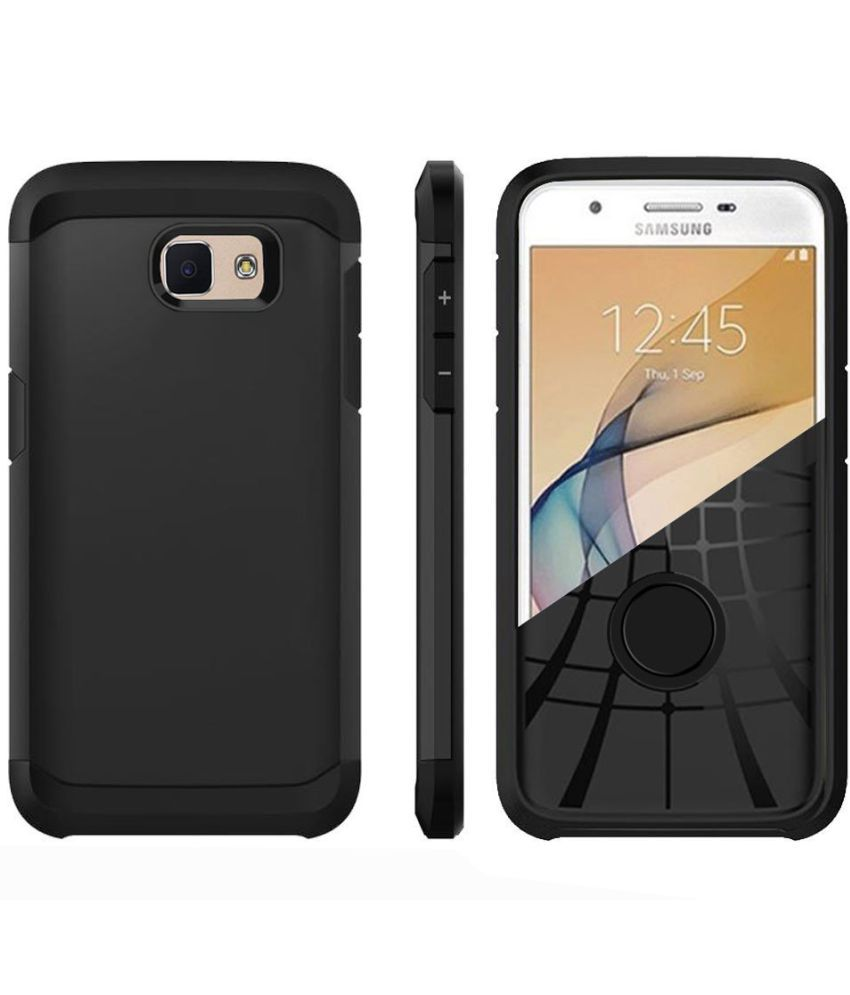 aa6552122d5 Samsung Galaxy J7 Prime Plain Cases Fashion Mania - Black - Plain Back  Covers Online at Low Prices