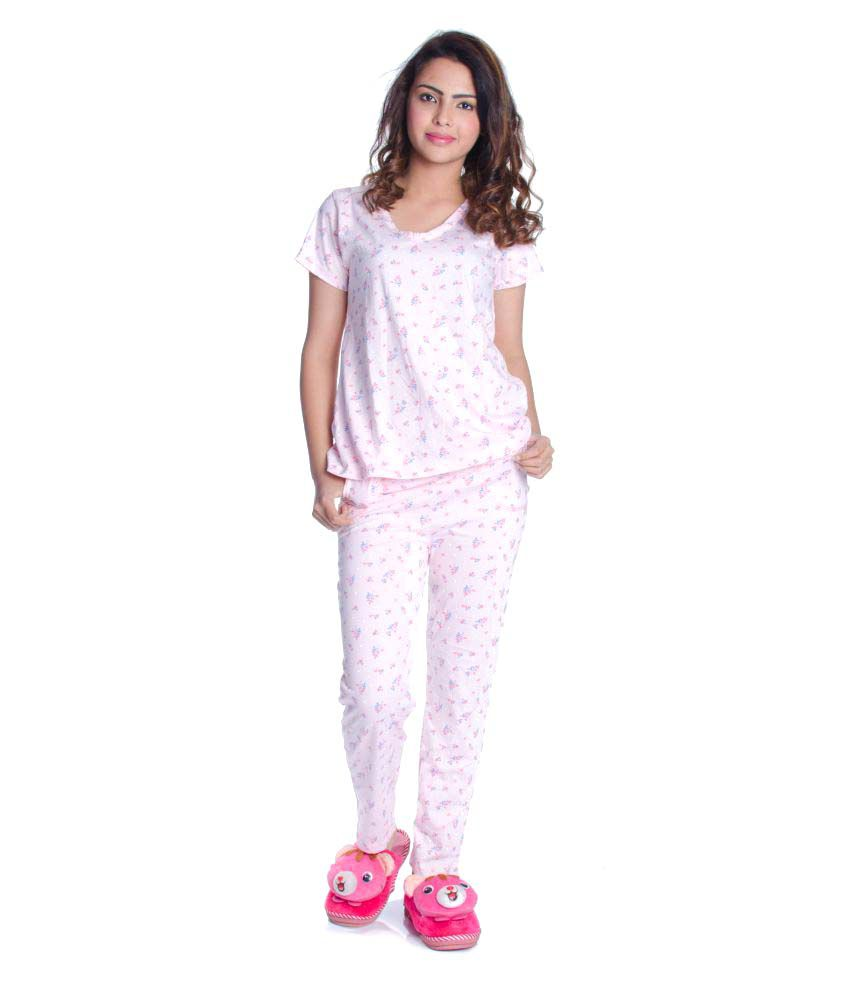 Fabpoppy Cotton Nightsuit Sets