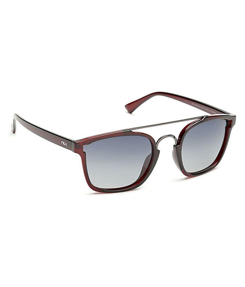 fila grey square sunglasses sf9134k51954p buy fila