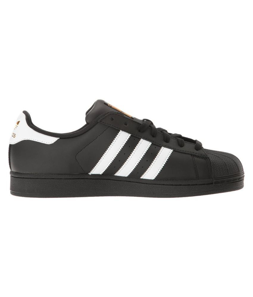 photos officielles ddf90 150ed Adidas Superstar Sneakers Black Casual Shoes