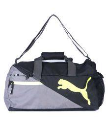 Puma Grey Duffle Bag