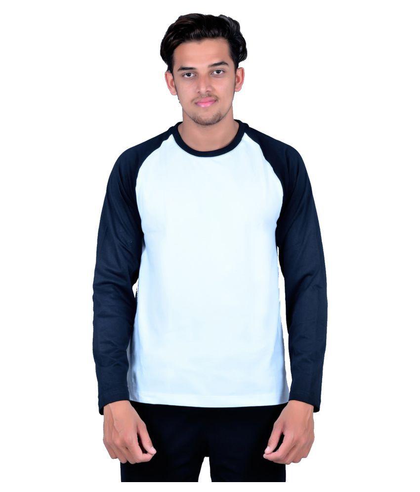 Zovil White Round T-Shirt