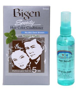 REVLON Semi Permanent Hair Color Dark Brown 2 gm Pack of 2: Buy ...