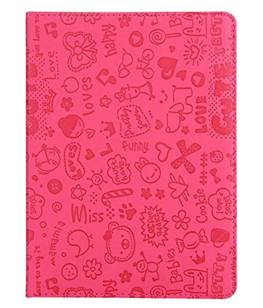 Apple iPad Mini 2 Flip Cover By KolorFish Pink