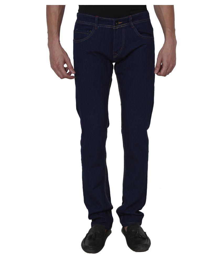 Hipe Blue Regular Fit Jeans