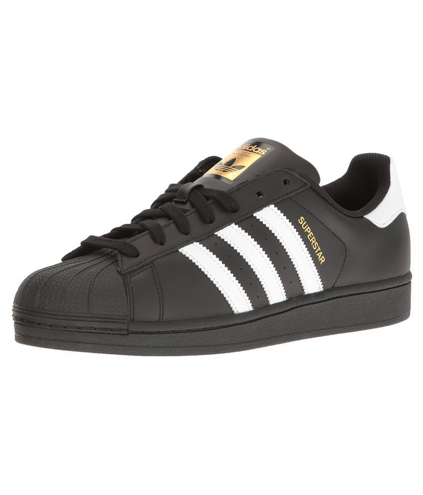 best service 984c6 d6951 Adidas Superstar Sneakers Black Casual Shoes - Buy Adidas Superstar  Sneakers Black Casual Shoes Online at Best Prices in India on Snapdeal
